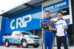 ยางโตโย ไทร์  ท้าพิสูจน์ความแกร่ง ส่งยาง OPEN COUNTRY M/T ลงสนามแข่งแรลลี่สุดโหด  Asia Cross Country Rally 2016