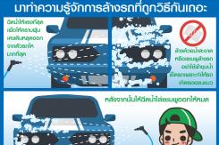 มาทำความรู้จักการล้างรถที่ถูกวิธีกันเถอะ