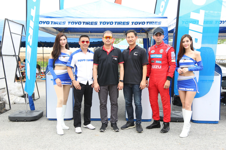โตโย ไทร์ จัดเต็มลงสนาม TOYO COSMIS RACING CAR THAILAND พิสูจน์สมรรถนะความแข็งแกร่ง สนามพีระ
