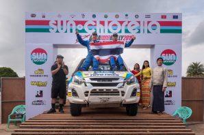 """""""ยาง TOYO TIRES"""" ผ่านบทพิสูจน์สนามหฤโหด   พา จุ๊บซ่า คว้าแชมป์ Asia Cross Country Rally 2019 สมัยที่ 5"""