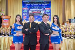 นักแข่งตบเท้าฉลองแชมป์ประจำปี เตรียมความพร้อมประกาศลุยศึก TOYO TIRES RACING CAR THAILAND 2020
